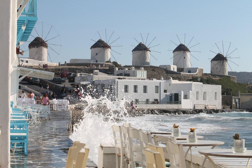 Mykonos et ses fameux moulins