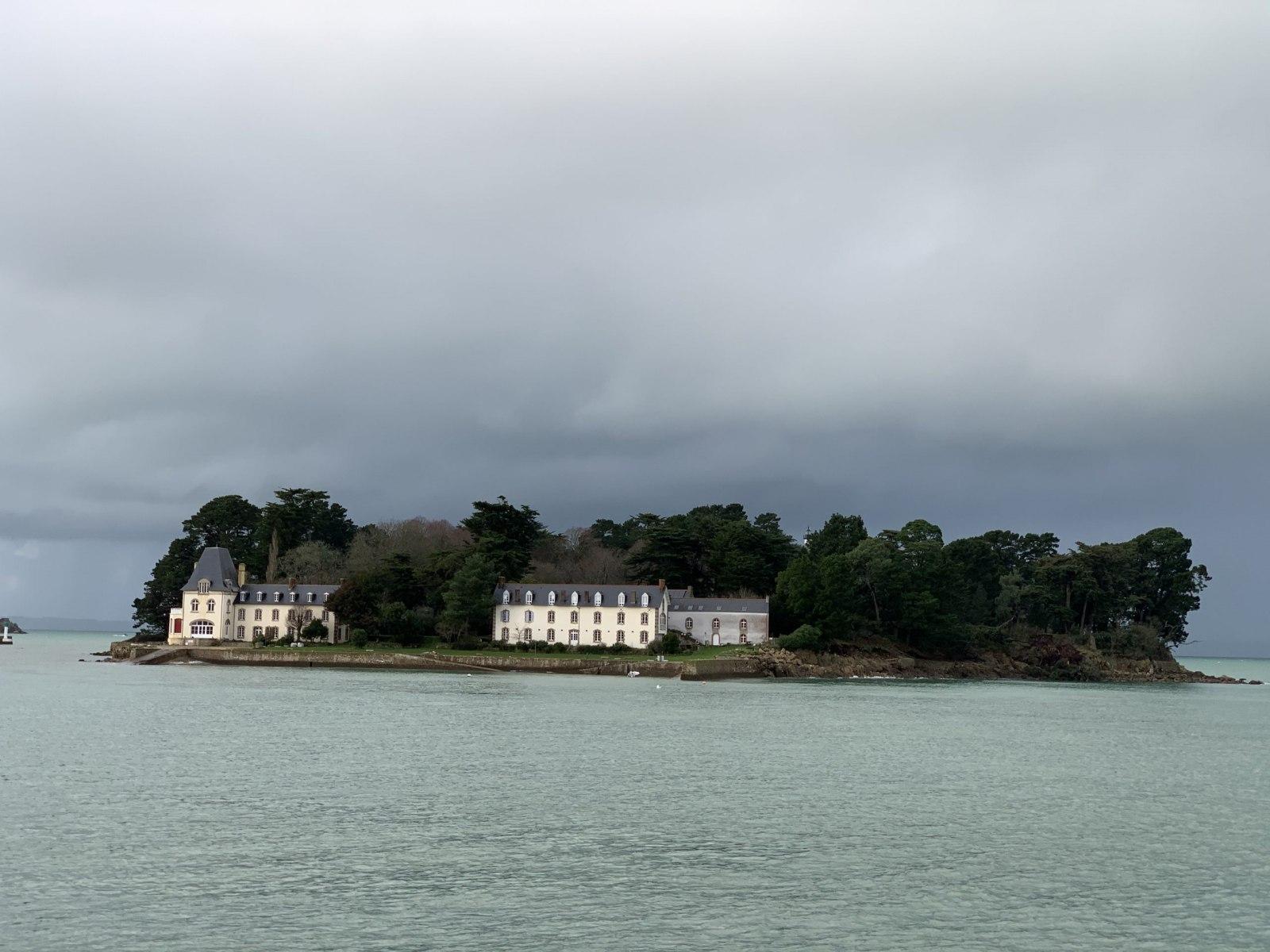 Douarnenez - L'île Tristan -